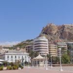 Вид на крепость Санта Барбара
