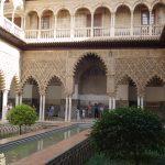 Внутренний дворик в Алькасаре