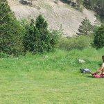 Медитирующий в долине