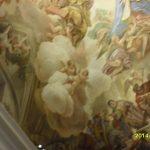 Свод капеллы в соборе