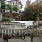 дворики в Сантьяго