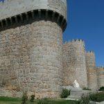 укрепленные стены крепости