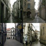 улицы столицы Галисии