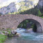 Мост Бухаруэло в Пиренеях