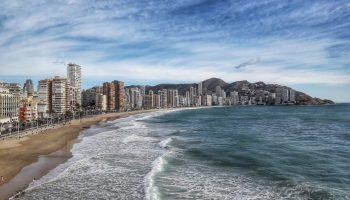 Пляжи Испании на побережье Средиземного моря