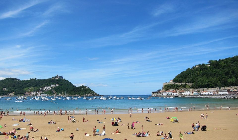 Испанские пляжи на берегу Атлантического океана